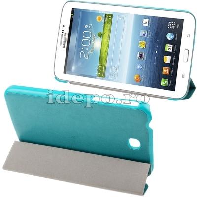 Husa Samsung Galaxy Tab 3 P3200, P3210 <br>  Sun Vision Blue