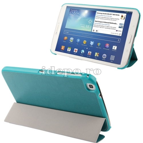 Husa Galaxy 8.0 INCH <BR> Tab 3 T310, T311 <BR> FOLIO COVER - GREEN