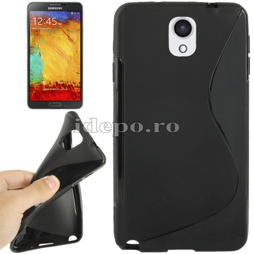 Husa Samsung Galaxy Note 3 N9000, N9005<br>  Sun Max Grip Black