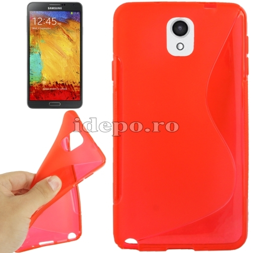 Husa Samsung Galaxy Note 3 N9000, N9005<br>  Sun Max Grip Red