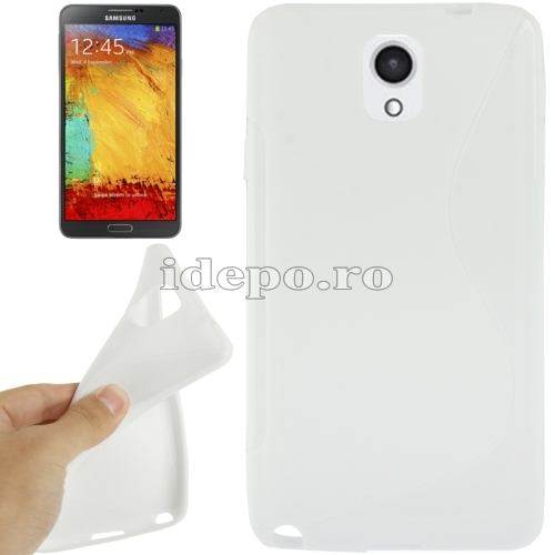 Husa Samsung Galaxy Note 3 N9000, N9005 <br>  Sun Max Grip White