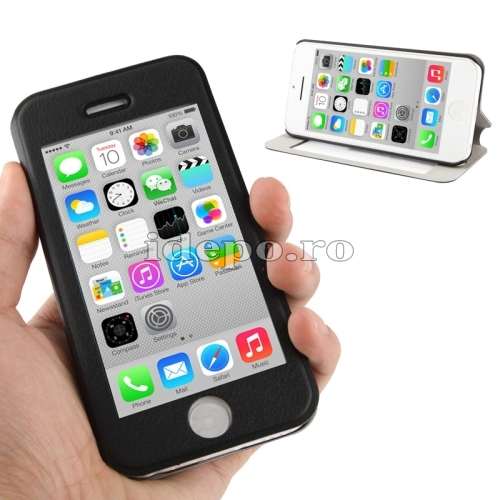 Husa iPhone 5C <br> Sun Vision Black <br> Accesorii iPhone 5C