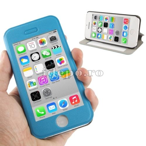 Husa iPhone 5C <br> Sun Vision Blue <br> Accesorii iPhone 5C