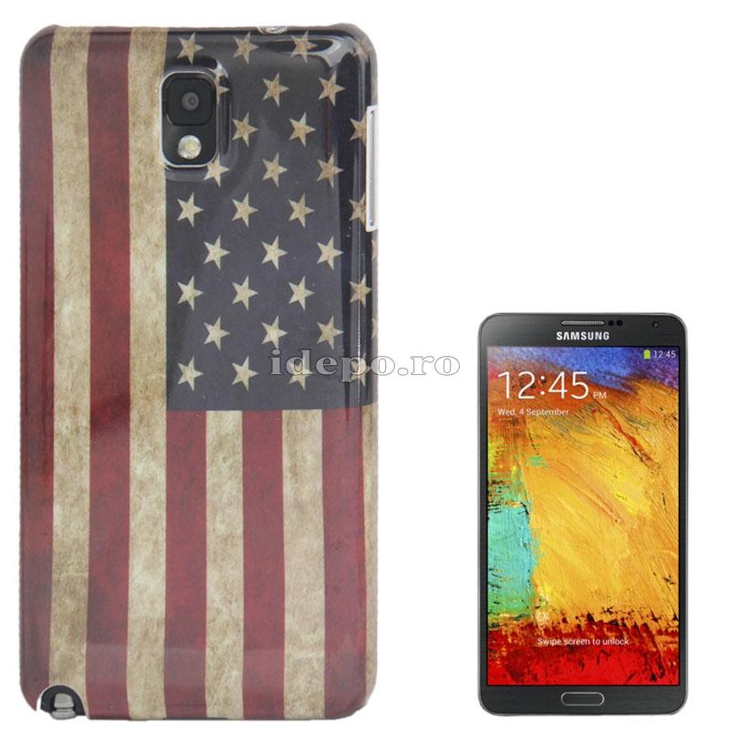 Husa Samsung Galaxy Note 3 N9000, N9005<br>  Sun USA Vintage