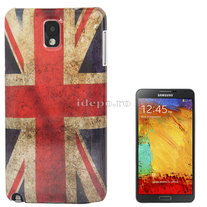 Husa Samsung Galaxy Note 3 N9000, N9005<br>  Sun UK Vintage