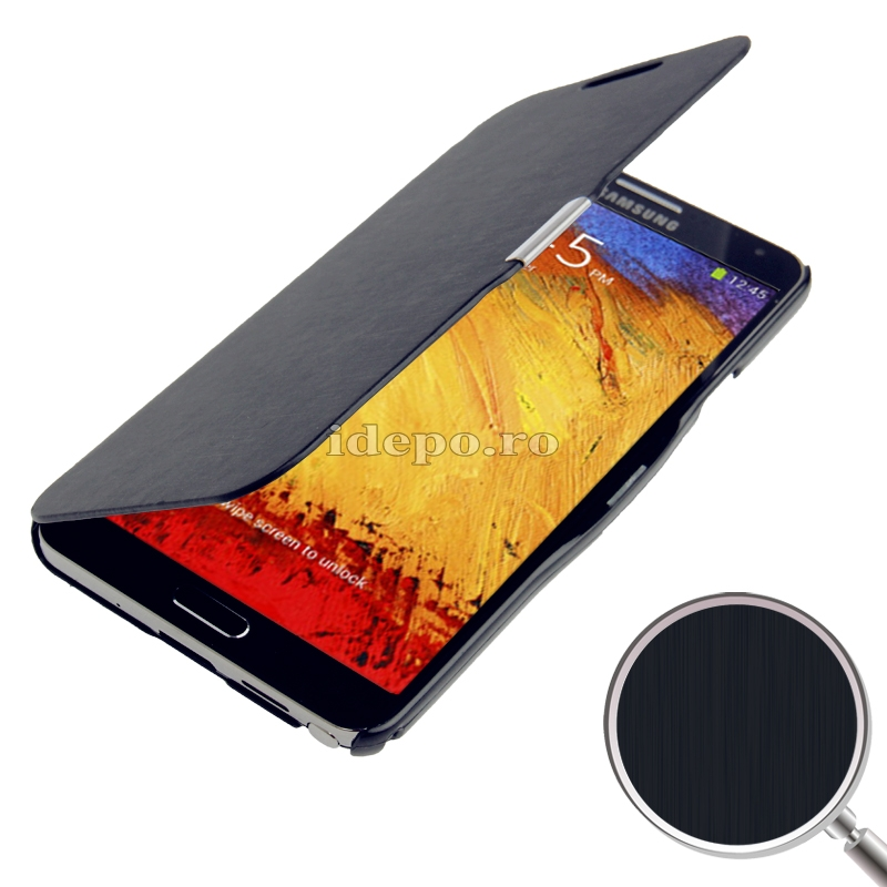 Husa Samsung Galaxy Note 3 N9000, N9005<br>  Sun Ultra Slim Black