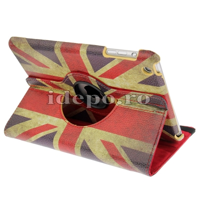 Husa iPad Mini 2 Retina<br>Husa iPad Mini <br> Sun UK Retro