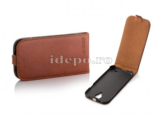 Husa iPhone 5C <br> SURAZO LEATHER<br> Hand Made - BROWN