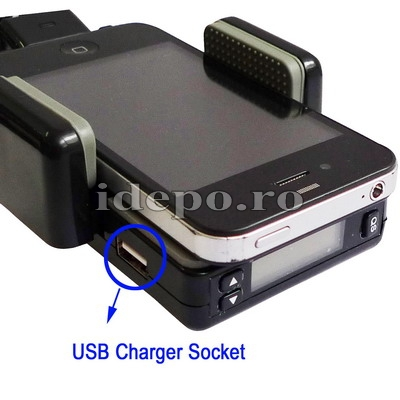 Car kit hands free BlackBerry cu modulator FM