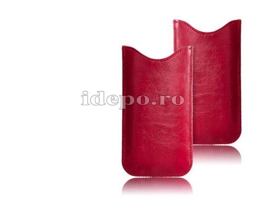 Husa Samsung S3 <BR> Galaxy S3 i9300<br> Ferrara - Piele - Red