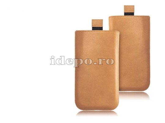 Husa iPhone 5S, 5 Surazo Verona Camel Hand Made