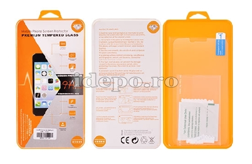 Tempered Glass <br> iPhone 4, 4S, 4G <br> Folie Sticla - Fata/Spate