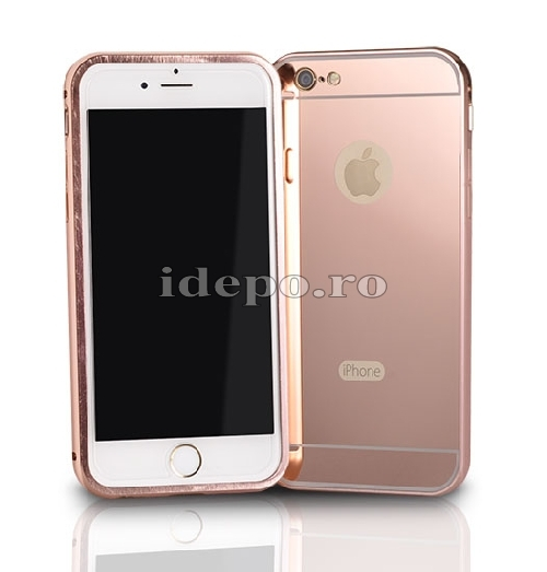 HUSA SAMSUNG<BR>ALU BUMPER MIRROR<BR> GALAXY S6 - COPPER