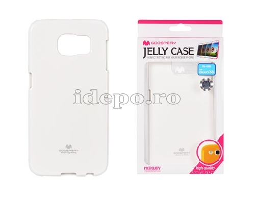 HUSA SILICON <BR> MERCURY JELLY<BR>GALAXY S6 - ALB