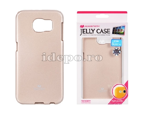 HUSA SILICON <BR> MERCURY JELLY <BR>  GALAXY S6 - AURIU
