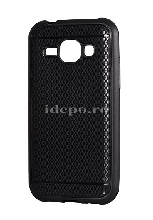 HUSE SILICON <BR> VIKI CASE <BR> IPHONE 5/5S - NEGRU