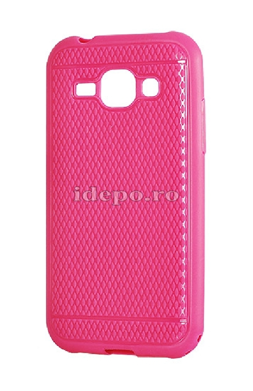 HUSE SILICON <BR> VIKI CASE <BR> IPHONE 5/5S - ROZ