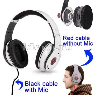 Casti audio Dr. Dre <br> Studio High Definition