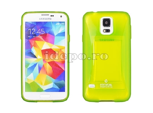 HUSE GALAXY<BR> COCKTAIL BUMEPER <BR>GALAXY S4 - LIME