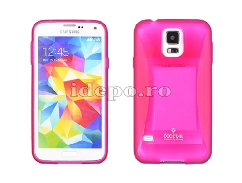 HUSA SAMSUNG<BR> COCKTAIL BUMPER <BR>GALAXY S4 - PINK