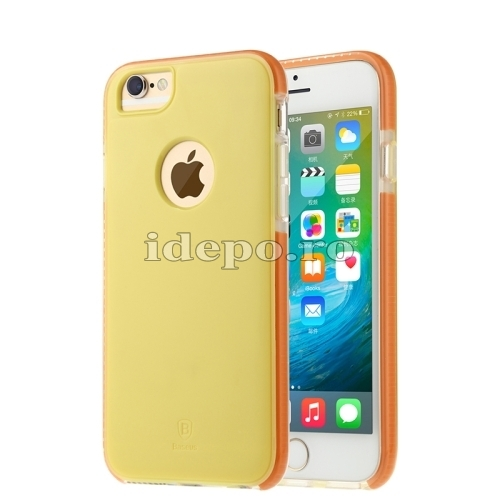 HUSE BASEUS PREMIUM<br>JUMP SERIES<BR>IPHONE 6, 6S PLUS - YELLOW