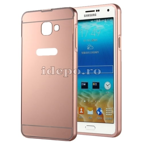 HUSE SAMSUNG PC/METAL ELECTRO SHELL COVERGALAXY A5 - ROSE-GOLD