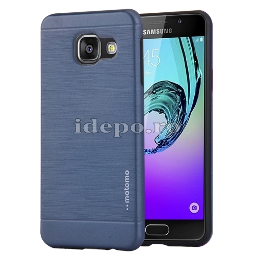 HUSE SAMSUNG TPU/METAL MOTOMO BRUSHEDGALAXY A5 - DARK-BLUE
