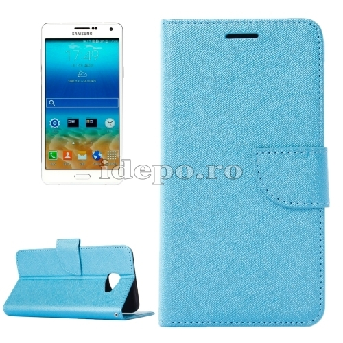 HUSE PIELEHORIZONTAL FLIP SOLIDGALAXY A7 - BLUE