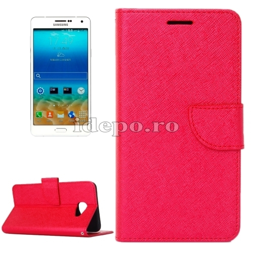 HUSE PIELEHORIZONTAL FLIP SOLIDGALAXY A7 - RED