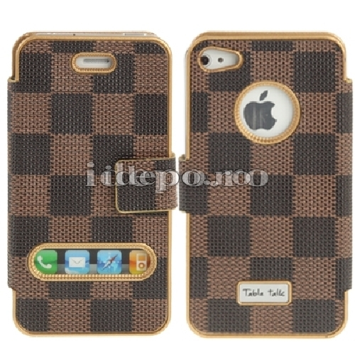 Husa iPhone 4, 4S <BR> Table Talk <br> Accesorii iPhone
