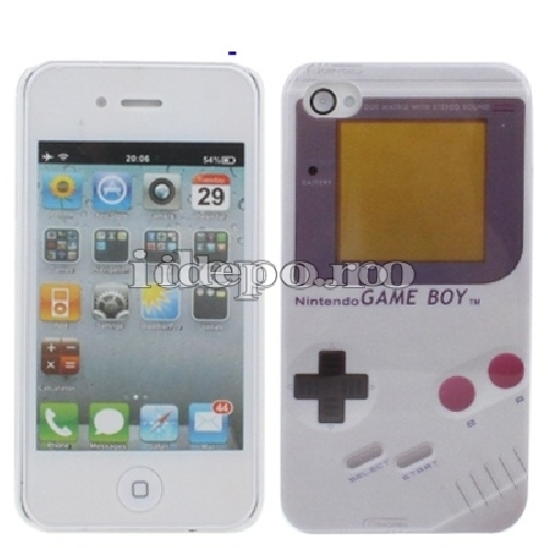 Husa iPhone 4, 4S <br> Game Boy <br> Accesorii iPhone 4, 4S