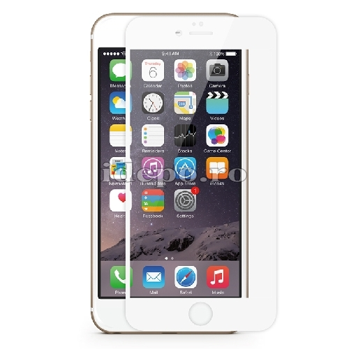 Folie protectie sticla securizata <br> Tempered Glass iPhone 6, 6S - WHITE