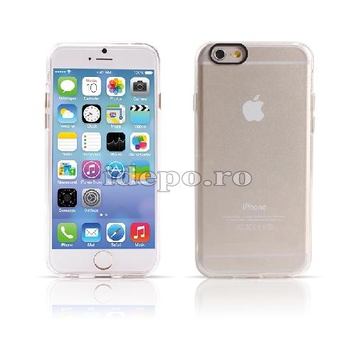 Husa iPhone 7 <br> Carcasa TPU iPhone 7 - TRANSPARENTA