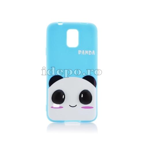 Husa SAMSUNG GALAXY S5 3D - Panda <br> Accesorii SAMSUNG S5