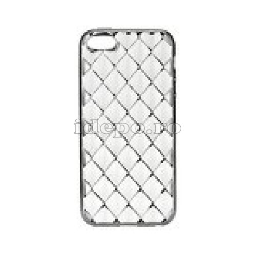 Husa iPhone 5/5S/5SE <BR> iPhone 5/5S/5SE - Luxury Negru <br> Accesorii iPhone 5/5S/5SE