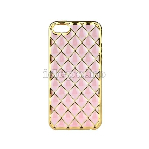 Husa iPhone 5/5S/5SE <BR> iPhone 5/5S/5SE - Luxury Roz <br> Accesorii iPhone 5/5S/5SE