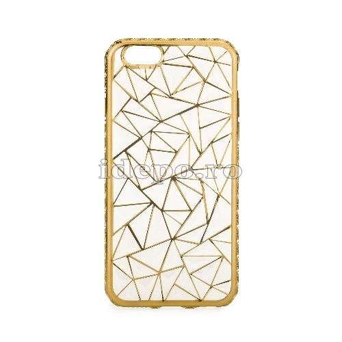 Husa iPhone 6/6S <BR> Husa iPhone LUXURY Auriu <br> Accesorii iPhone 6/6S