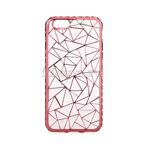 Husa iPhone 6/6S <BR> Husa iPhone LUXURY Roz <br> Accesorii iPhone 6/6S