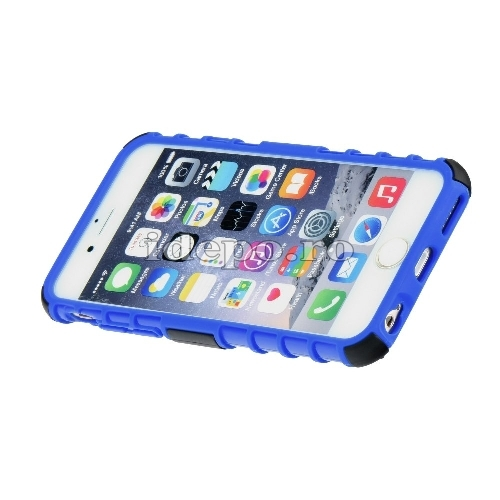 Husa iPhone 5/5S/5SE <BR> Husa iPhone - PANZER  Albastru <br> Accesorii iPhone 5/5S/5SE