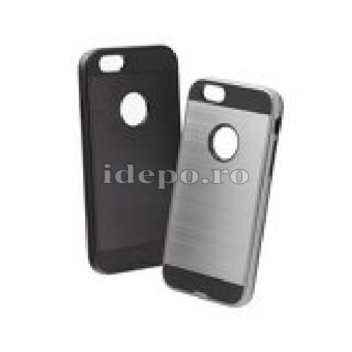 Husa iPhone 5/5S/5SE <BR> Husa iPhone Moto, Negru <br> Accesorii Husa iPhone 5/5S/5SE