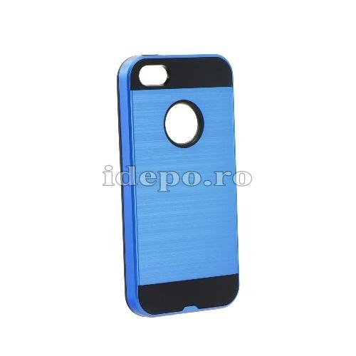 Husa iPhone 5/5S/5SE <BR> Husa iPhone Moto, Albastru <br> Accesorii Husa iPhone 5/5S/5SE