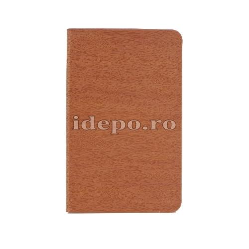Husa iPad AIR 2,  iPad PRO <br> 9.7 INCH - Piele Maro <br> Accesorii iPad AIR, PRO