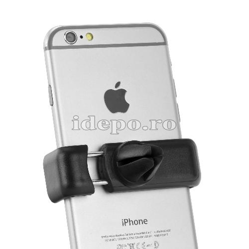 SUPORT AUTO - VENTILATIE Compatibil cu iPhone, Samsung, Sony, Huawei, HTC, Motorola
