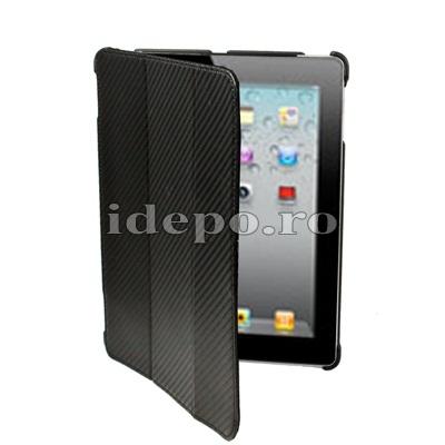 Husa iPad 2<br> Sun Carbon Piele<br> Accesorii iPad