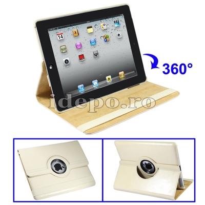 Husa iPad 2 Piele <br> iPad2 - 9,7 INCH <br> Sun Executive Beige