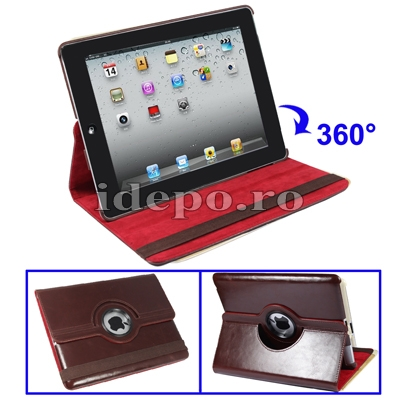 HHusa iPad 2 Piele <br> iPad2 - 9,7 INCH <br> Sun ExecutiveBrown