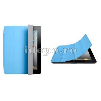Husa iPad 2 <BR> Smart Cover - Blue <br> Functie hibernare