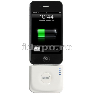 Baterie acumulator  iPhone 3GS,4,4S<br> Power Stand 2000mAh