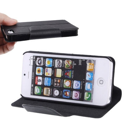 Husa iPhone 5S, 5 <br> Sun Ultra Slim Black<br> Huse iPhone 5S, 5