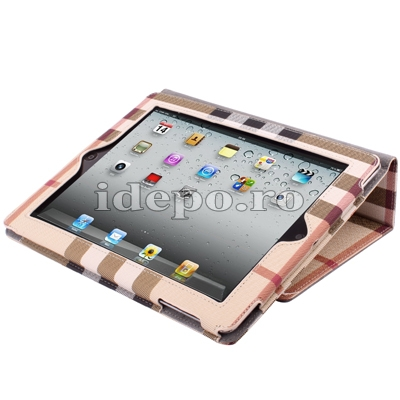 Husa iPad 2<br>Burberry Smart Cover<br> Accesorii iPad